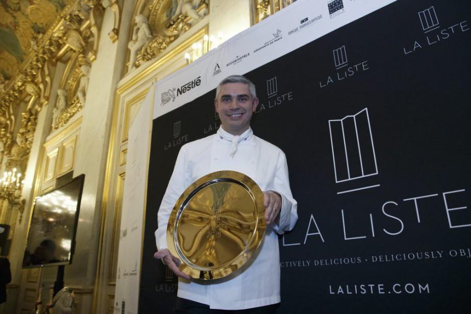 Le Restaurant duchef Benoît Violier, qui possèdetrois étoiles... (Photo Michel Euler, AP)