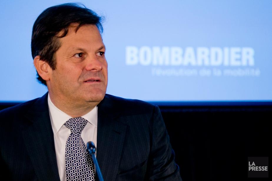 Le président exécutif du conseil d'administration de Bombardier,... (PHOTO DAVID BOILY, ARCHIVES LA PRESSE)