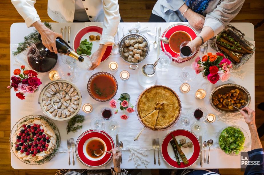 Les grands-mères contribuent à perpétuer traditions et recettes... (PHOTO EDOUARD PLANTE-FRÉCHETTE, LA PRESSE)