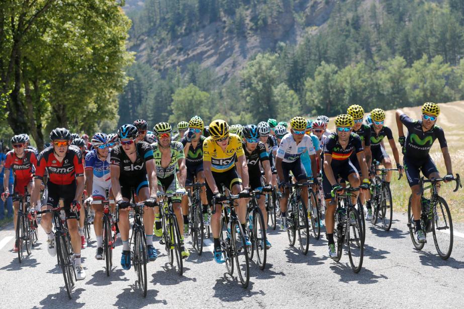 Le Tour de France et d'autres épreuves importantes... (Photo Christophe Ena, AP)