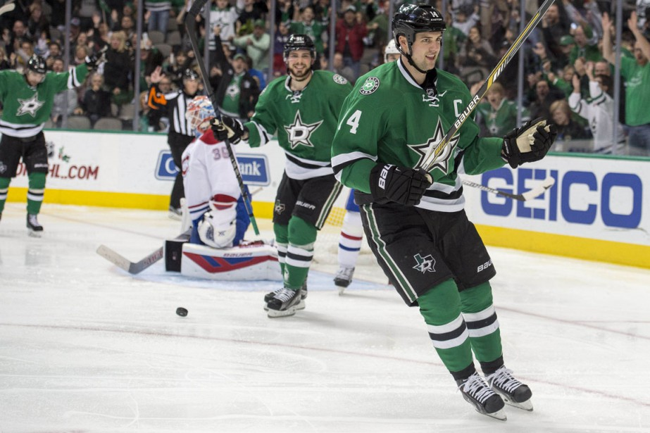 Jamie Benn a récolté trois points, tout comme son coéquipier Jason Spezza. (Photo Jerome Miron, USA TODAY Sports)