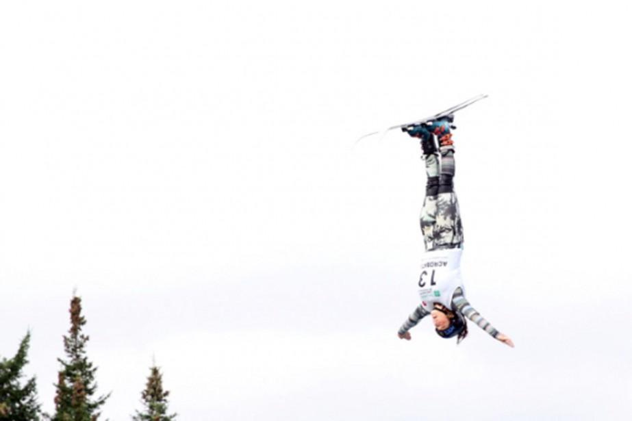Catrine Lavallée... (Photo d'archives fournie par l'Association canadienne de ski acrobatique)