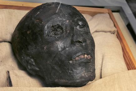 La momie de Toutankhamon.... (Photo d'archives, AP)