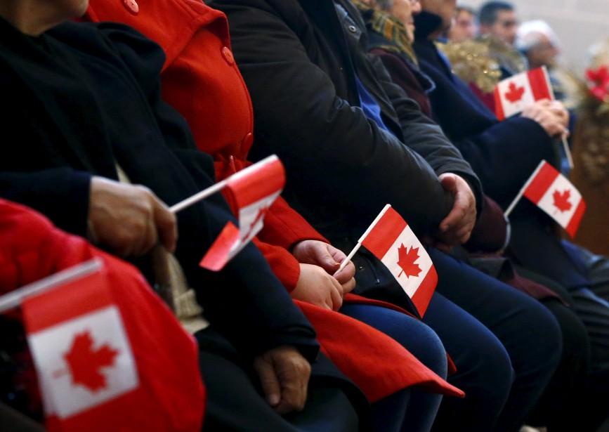 La grande majorité des immigrants qui arrivent au... (Photo Mark Blinch, Archives Reuters)