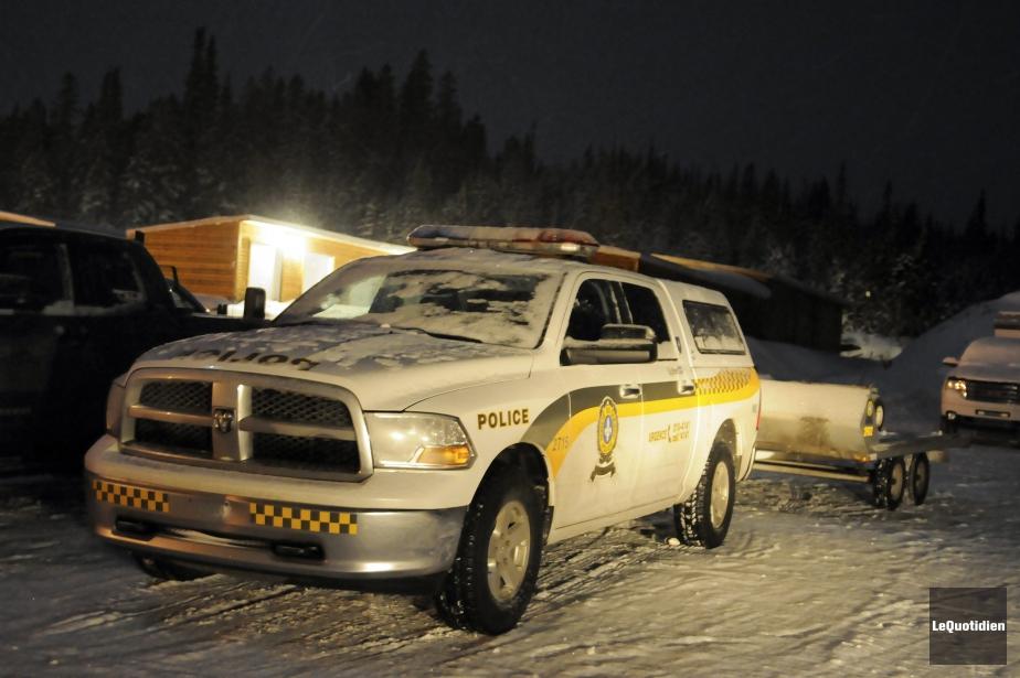 Un motoneigiste a perdu la vie samedi soir dans... (PHOTO ARCHIVES LE QUOTIDIEN)