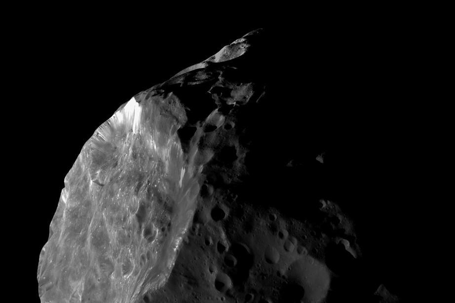 Le risque qu'une comète de 100 km de... (PHOTO FOURNIE PAR LA NASA)