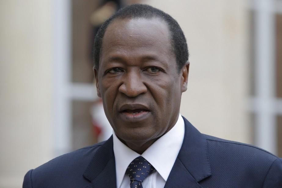 Blaise Compaoré... (PHOTO ARCHIVES AP)