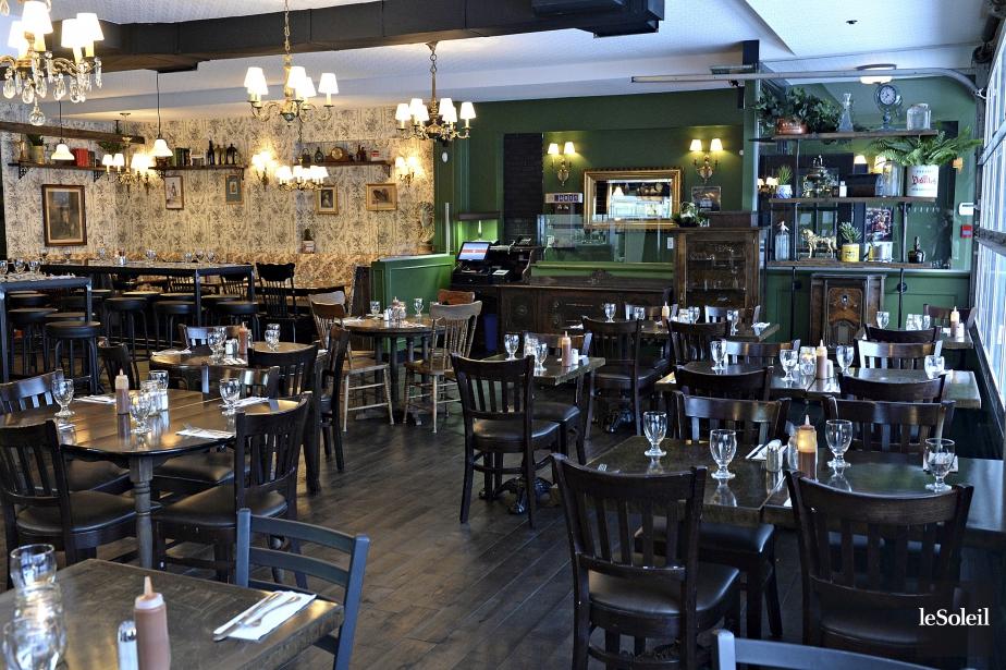 Nouveau Restaurant Rue Myrand
