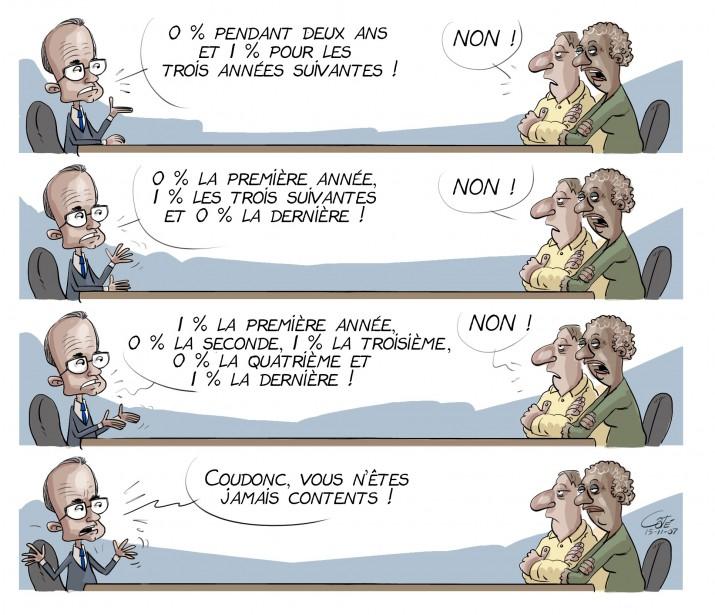 L'austérité vue par André-Philippe Côté | 23 décembre 2015
