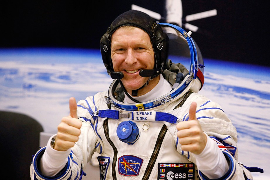 L'astronaute Tim Peake, photographié le 15 décembre avant son... (Photo Dmitry Lovetsky, AP)