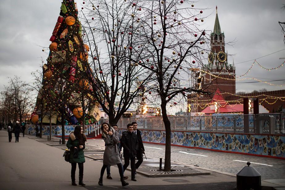 Moscou connaît actuellement un hiver exceptionnellement doux avec... (Photo Alexander Zemlianichenko, AP)