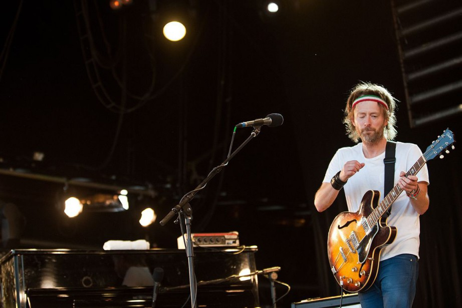 Thom Yorke, le chanteur de Radiohead.... (Photo Leon Neal, Archives Agence France-Presse)