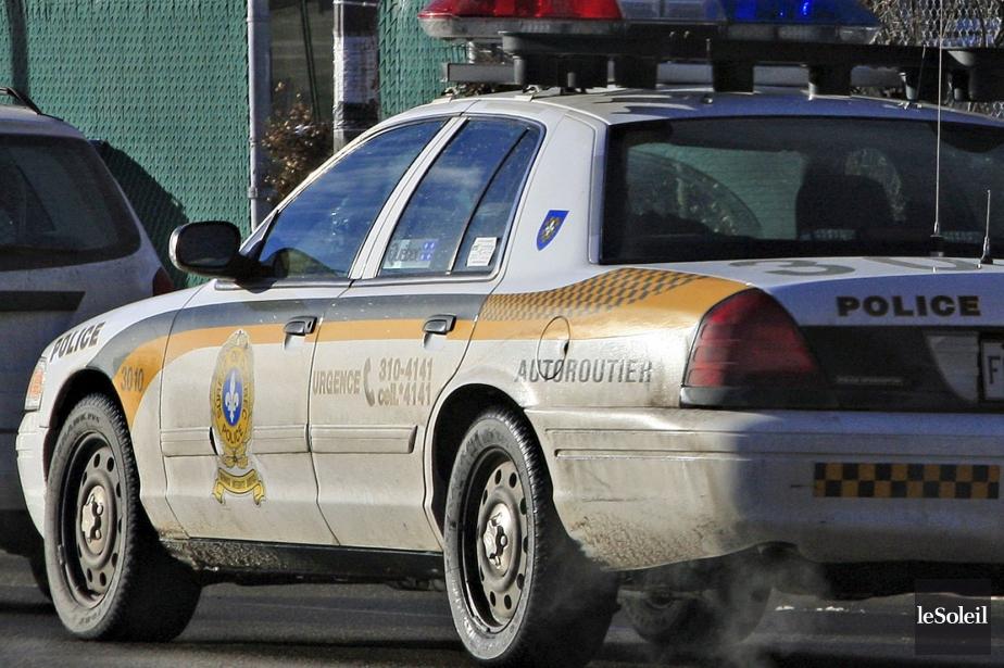 Selon la Sûreté du Québec, la tragédie est... (Photothèque Le Soleil, Pascal Ratthé)