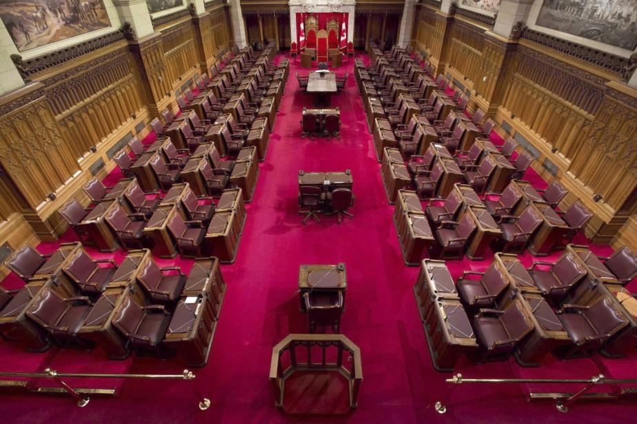 Le Sénat canadien... (Archives La Presse canadienne)