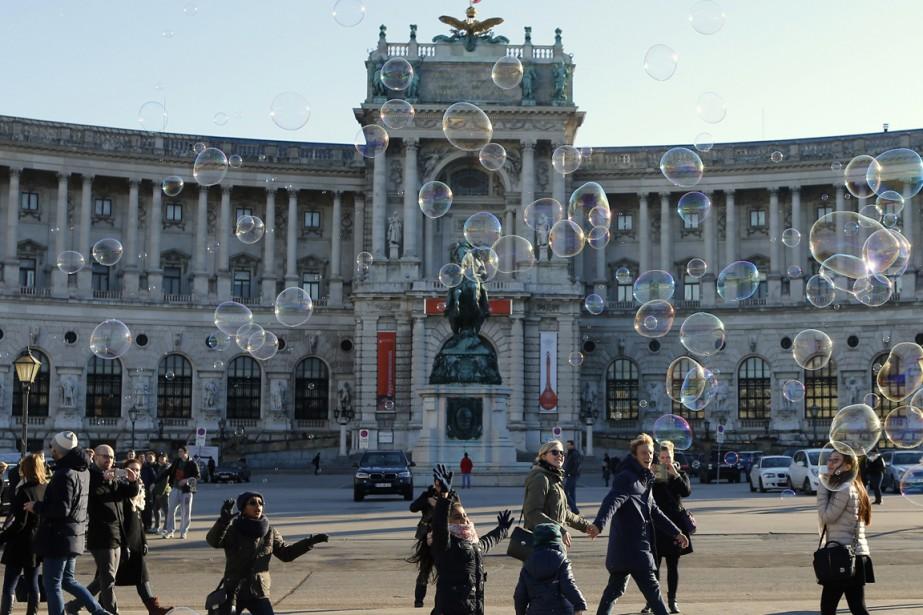La Hofburg, à Vienne, le 23 décembre... (Photo Heinz-Peter Bader, Reuters)