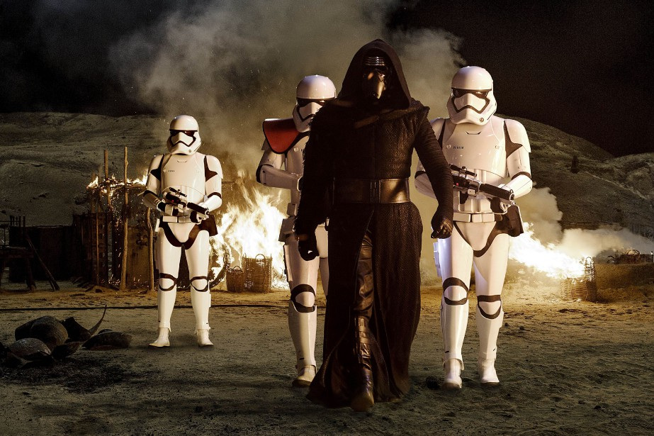Star Wars:The Force Awakens... (PHOTO FOURNIE PAR LUCASFILM)