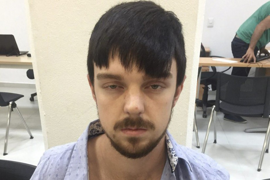 Sur la photo, Ethan Couch au bureau du procureur... (PHOTO REUTERS / Fiscalia General del Estado de Jalisco)