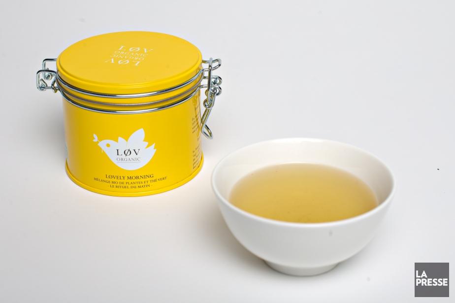 Le théLøvely Morning combine thé vert, maté énergisant... (PHOTO OLIVIER JEAN, LA PRESSE)