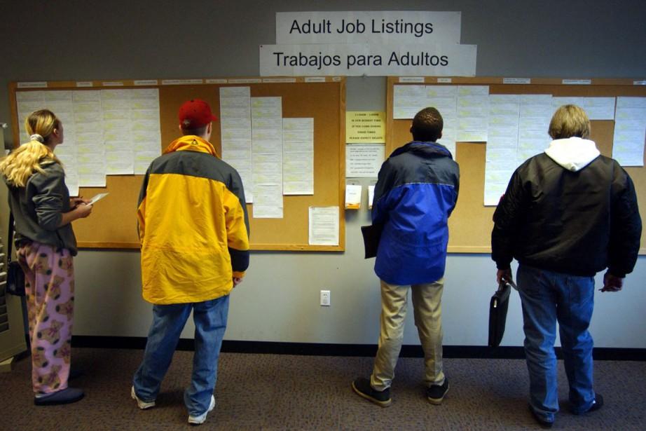Les inscriptions hebdomadaires au chômage aux... (PHOTO ARCHIVES BLOOMBERG)