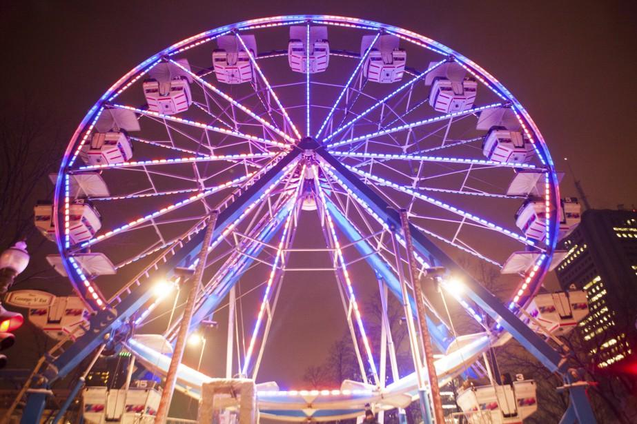 La grande roue (Le Soleil, Caroline Grégoire)