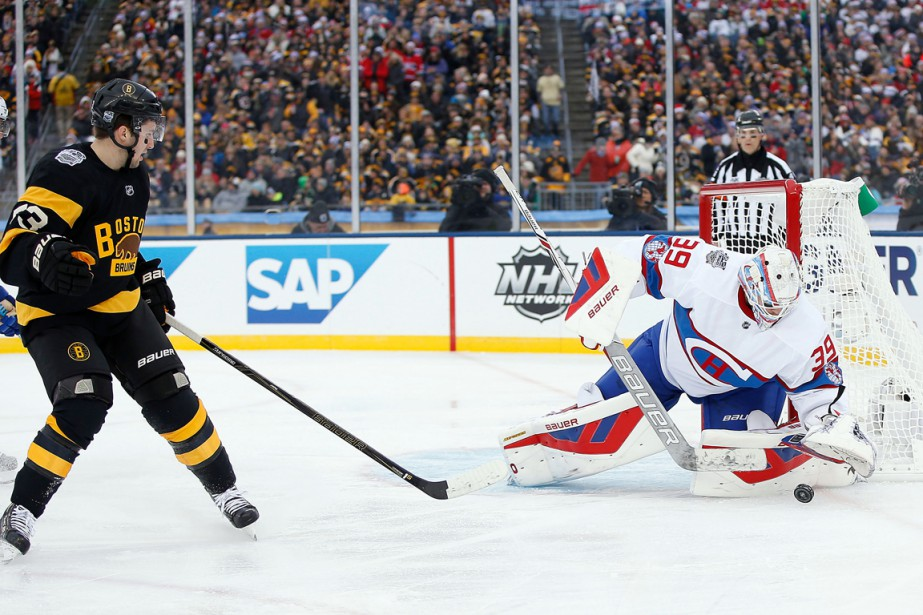 Le gardien du Canadien Mike Condon a probablement signé... (Photo Greg M. Cooper, USA TODAY Sports)