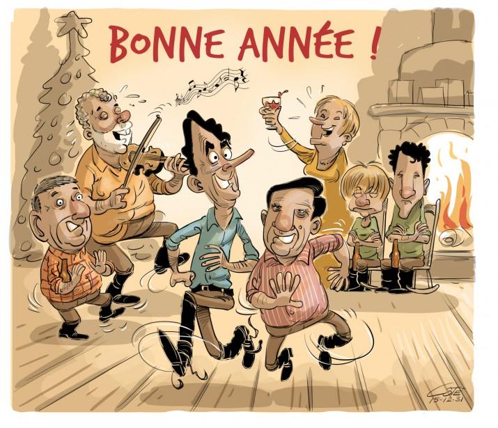 Caricature du 31 décembre... | 2016-01-02 00:00:00.000