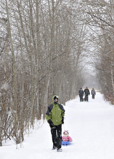 Les paysages régionaux étaient splendides et paisibles, samedi au Saguenay-Lac-Saint-Jean. (Photo Le Progrès-Dimanche, Rocket Lavoie)