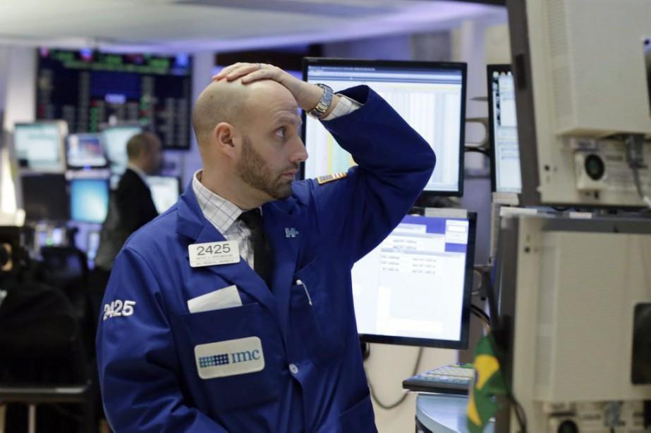 «Nous avons deux situations» pesant sur la Bourse,... (Photo Richard Drew, AP)