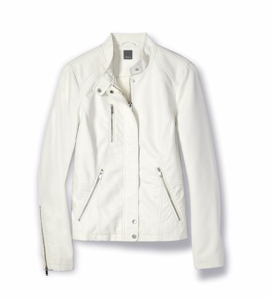 Veste en simili-cuir blanc, Reitmans ()