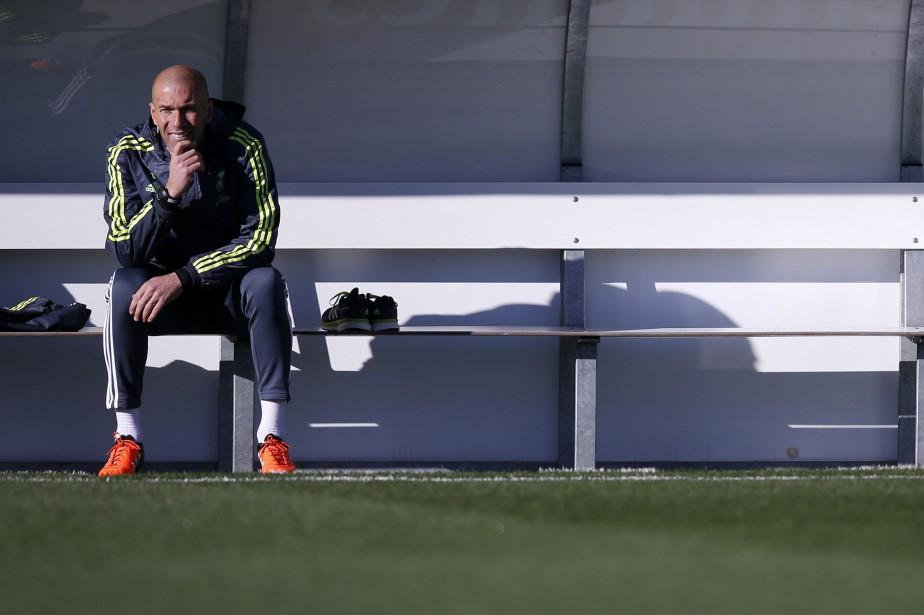 Zinedine Zidane... (Photo Juan Medina, Reuters)