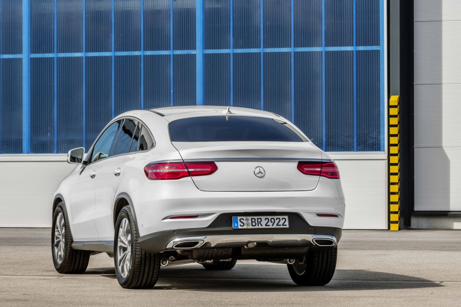 Mercedes-Benz GLE Coupé (PHOTO FOURNIE PAR MERCEDES-BENZ)