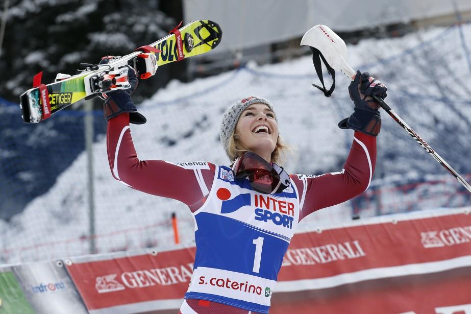 Nina Loeseth... (Photo Alessandro Garofalo, AFP)