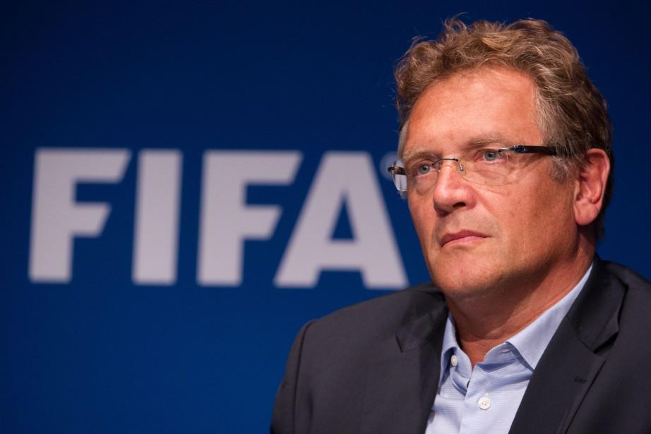 Jérôme Valcke... (PHOTO ARCHIVES AFP)