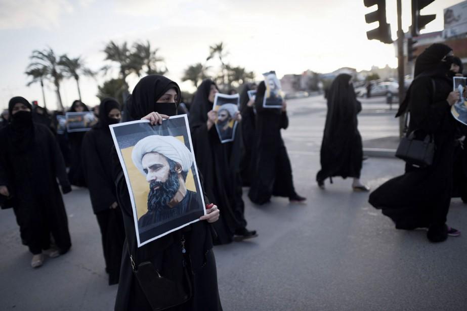 L'exécution par l'Arabie saoudite de Nimr Baqer al-Nimr,... (PHOTO MOHAMMED AL-SHAIKH, ARCHIVES AFP)