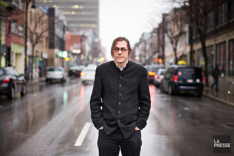 Le cinéaste Richard Brouillette... (PHOTO OLIVIER PONTBRIAND, LA PRESSE)