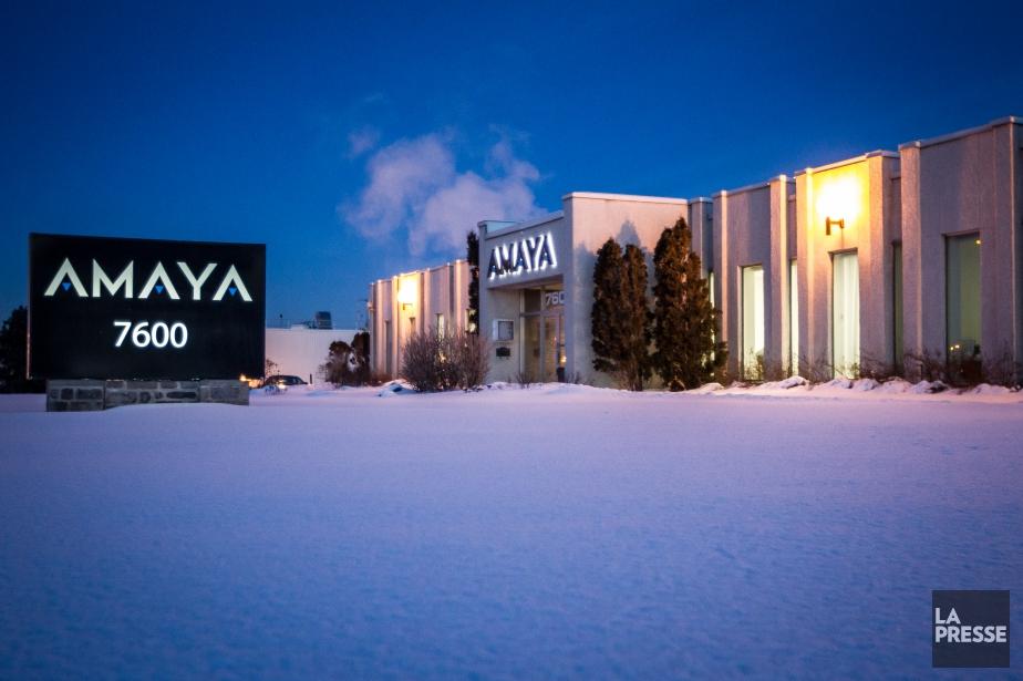 La valeur du titre boursier d'Amaya a été... (PHOTO OLIVIER PONTBRIAND, LA PRESSE)