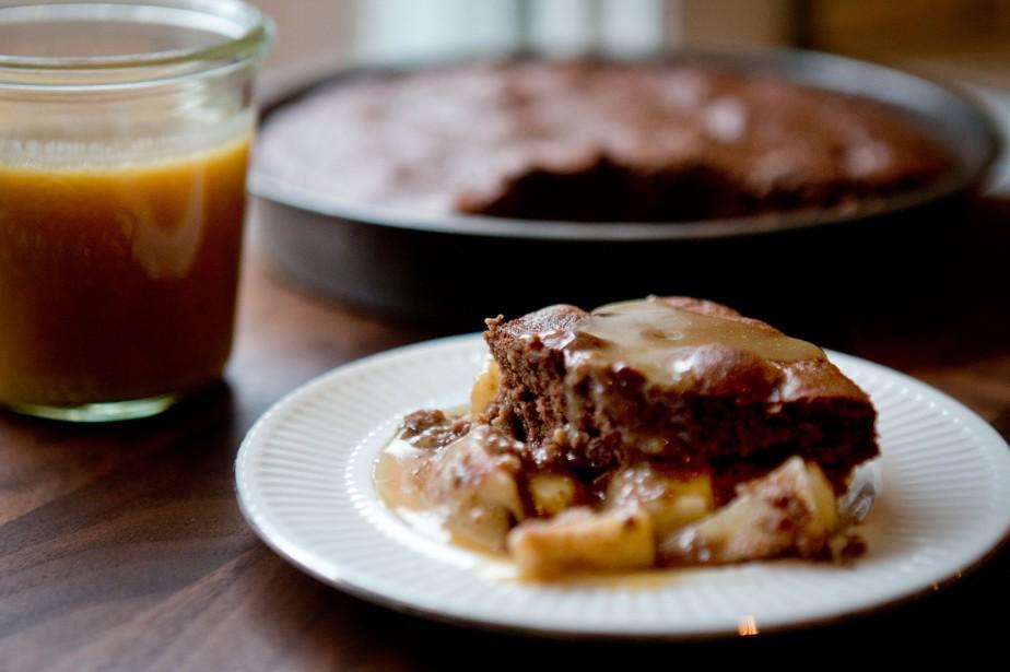 Voilà un gâteau que l'on dépose dans un... (PHOTO MARCO CAMPANOZZI, LA PRESSE)
