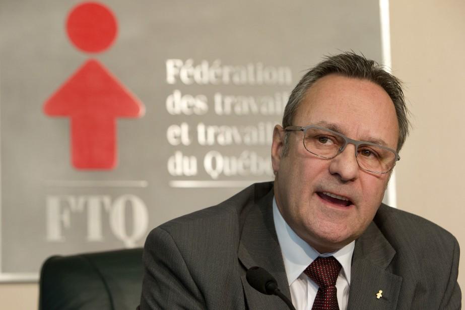 Le président de la FTQ, Daniel Boyer... (Archives La Presse)