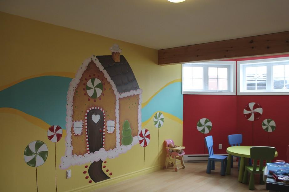 Un décor de garderie inspirant (Fournie par Mélissa Robitaille)