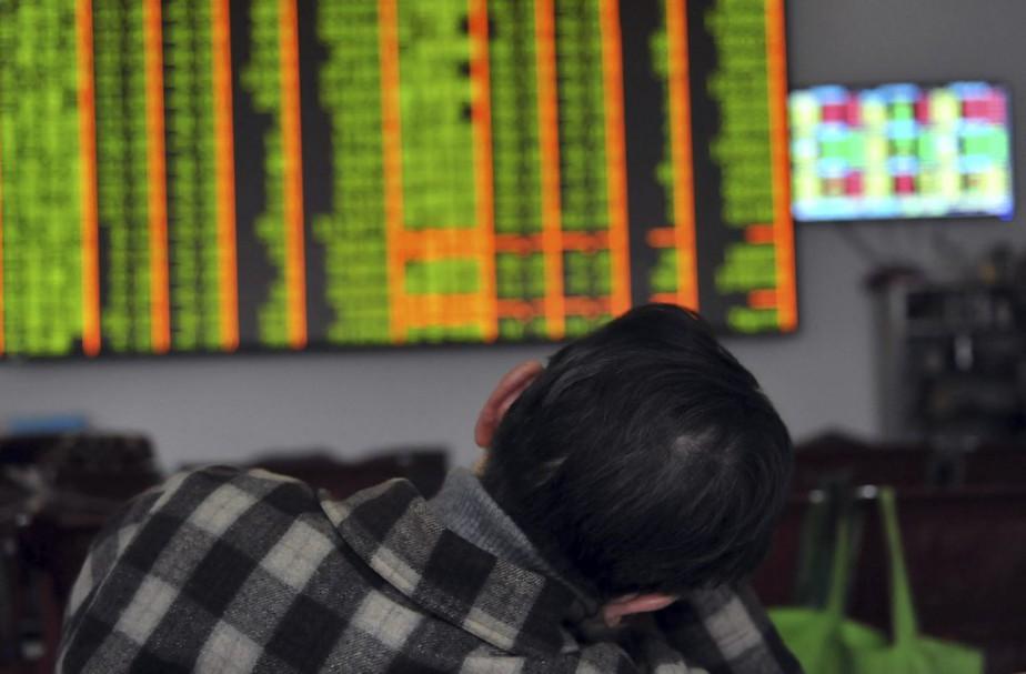 Le système activé jeudi a entraîné une fermeture... (Photo AFP)