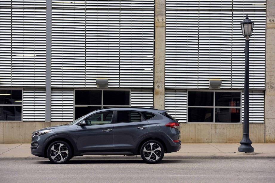 Hyundai Tucson (PHOTO FOURNIE PAR HYUNDAI)