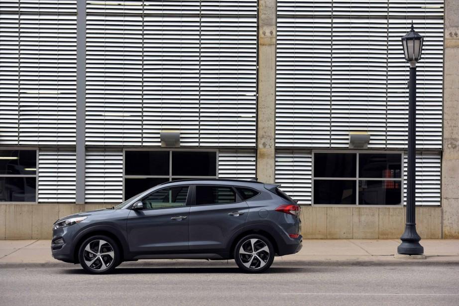 Hyundai Tucson (PHOTO FOURNIE PAR HYUNDAI)