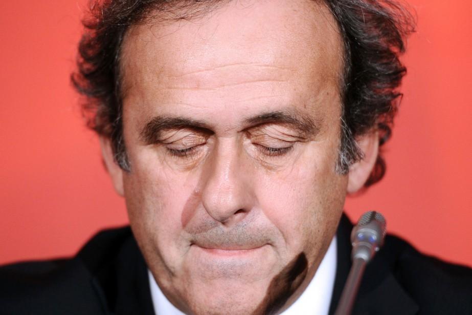 Michel Platini... (PHOTO ARCHIVES AFP)