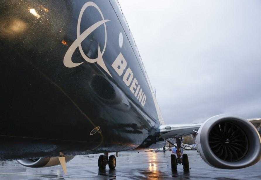 Boeing a reçu des commandes pour 768avions civils,... (PHOTO JASON REDMOND, ARCHIVES AGENCE FRANCE-PRESSE)