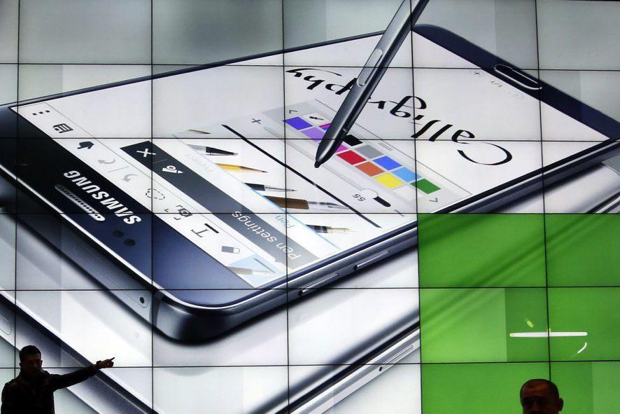 S'il reste le numéro un des téléphones intelligents,... (PHOTO LEE JIN-MAN, ARCHIVES AP)