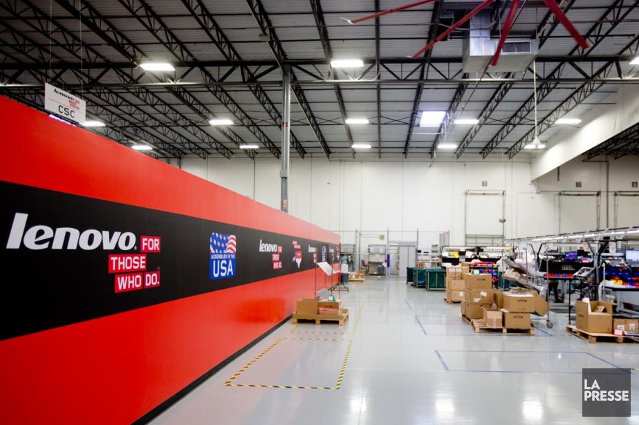 Une usine deLenovo installée aux États-Unis... (PHOTO MARCO CAMPANOZZI, ARCHIVES LA PRESSE)