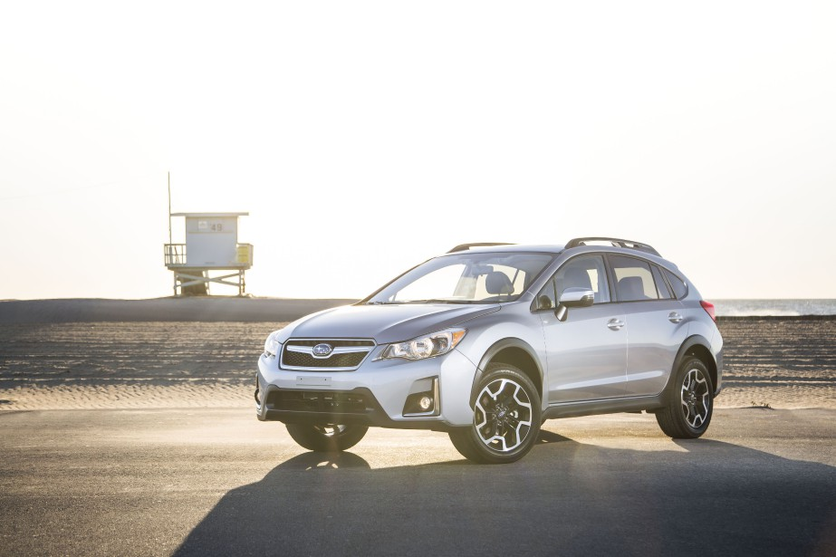 La Subaru Crosstrek 2016... (PHOTO FOURNIE PAR SUBARU)