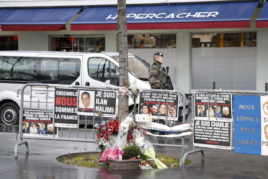 La prise d'otages sanglantepar le djihadiste Amédy Coulibalydans... (Photo Charles Platiau, Reuters)