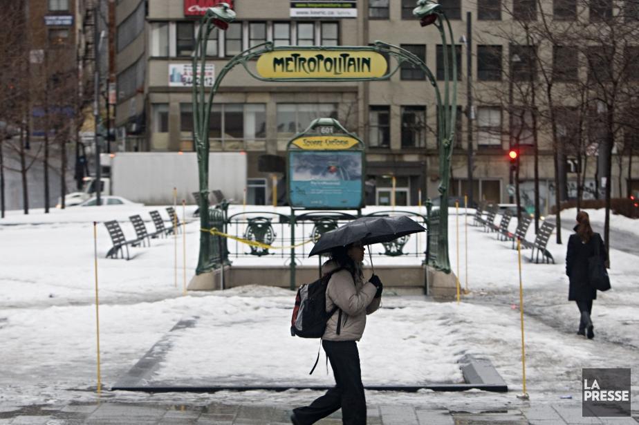 Les températures grimperont nettement au-dessus du point de... (PHOTO FRANÇOIS ROY, ARCHIVES LA PRESSE)