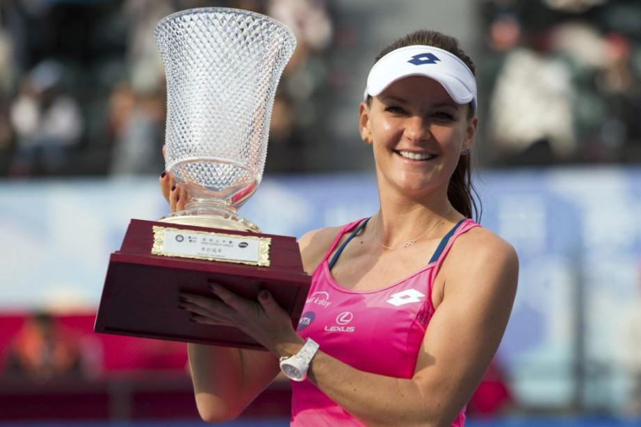 Agnieszka Radwanska... (PHOTO AFP)
